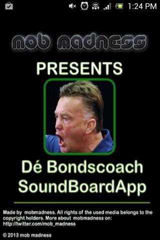 Dé Bondscoach Soundboard App