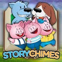 StoryChimes The Three Pigs 2 logo