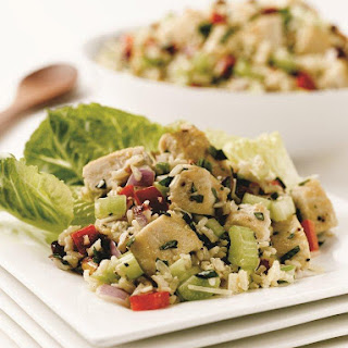 Brown Rice Chicken Salad.