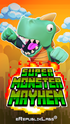 【免費街機App】Super Monster Mayhem-APP點子