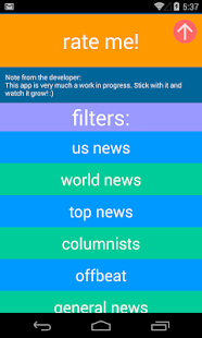 Headlinr - Random News Reader- screenshot thumbnail