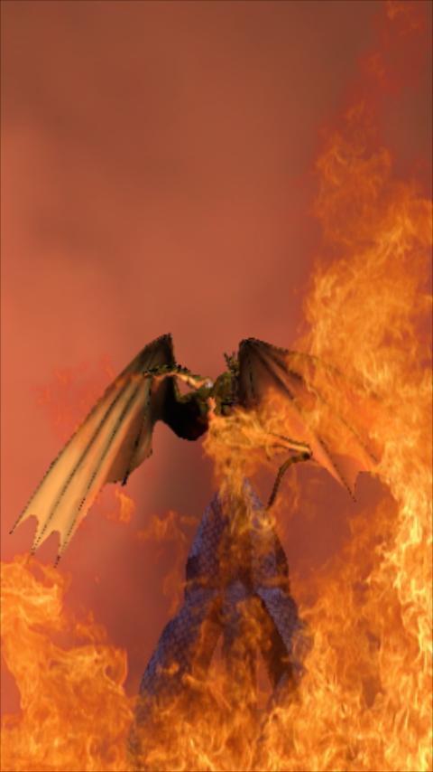 Dragon Live Wallpaper Pro - screenshot