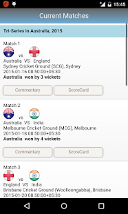 Live Cricket Commentary- screenshot thumbnail
