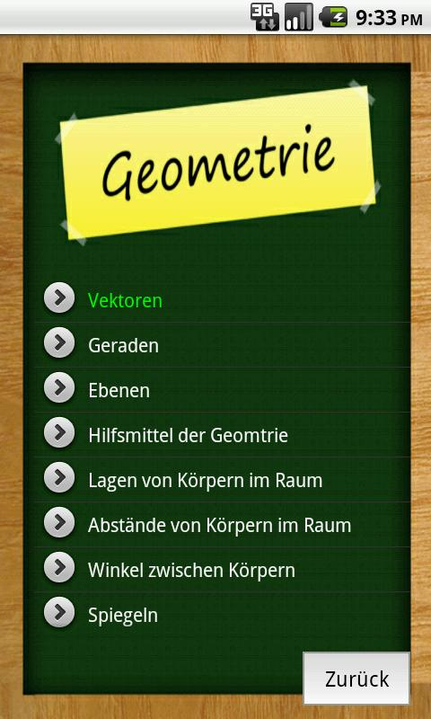 Abi-App Lite - screenshot