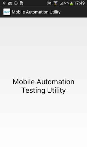 Mobile Automation Testing Util