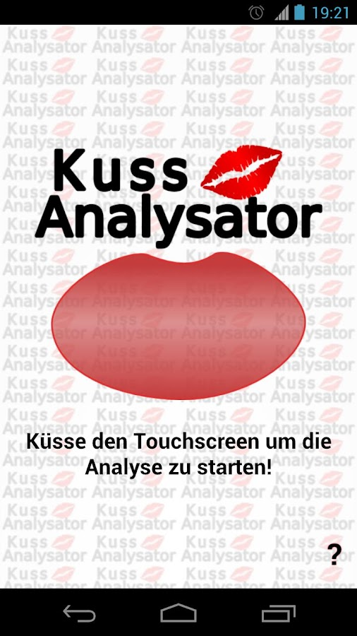 Kiss Analyzer - screenshot