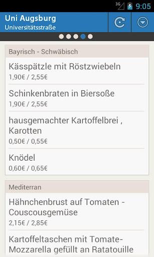 Mensa Augsburg
