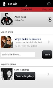 Virgin Radio Italia - screenshot thumbnail