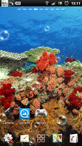 玩個人化App|水中サンゴ礁LWP免費|APP試玩