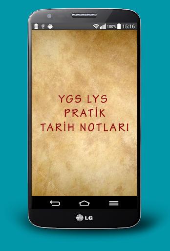 YGS LYS Pratik Tarih Notları