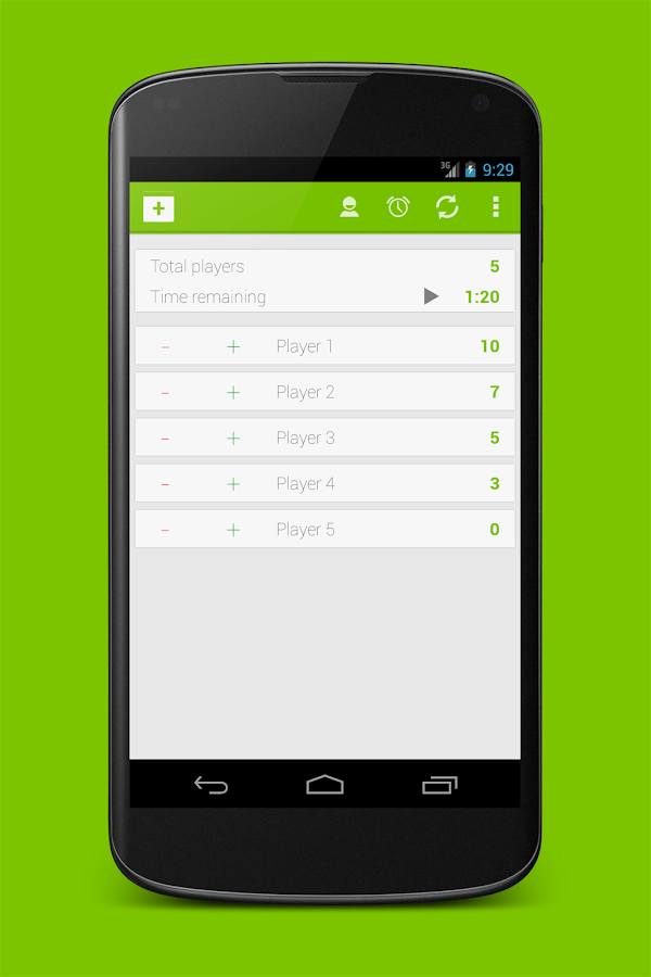 Score Counter - screenshot