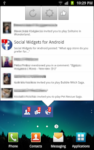 Social Widgets- screenshot thumbnail
