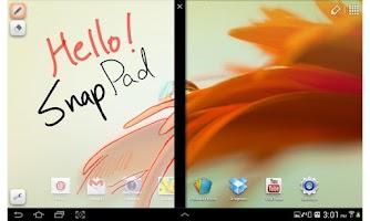 Screenshot of Snap Pad Free - Memo, Doodling
