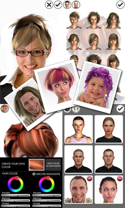 Cool Magic Mirror Hair Styler Android Apps On Google Play Short Hairstyles Gunalazisus