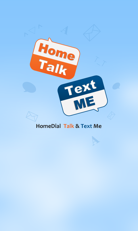 Homedial – Free SMS and Call- screenshot