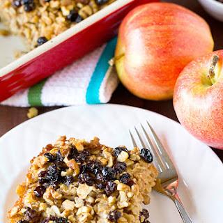 Apple Cinnamon-Raisin & Walnut Baked Oatmeal