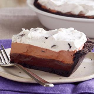 OREO Triple Layer Chocolate Pie
