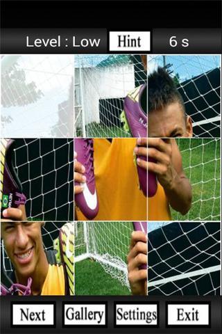 Neymar Puzzle Games
