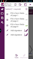 Screenshot of SIGNificant E-Signing Client