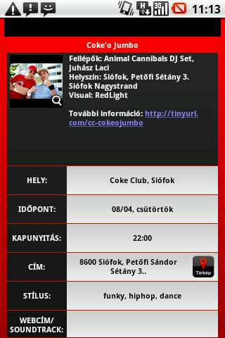 Coke Club - screenshot