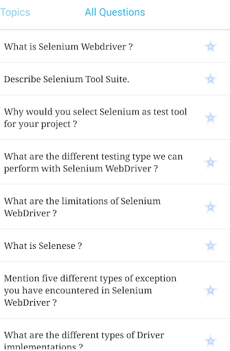 Selenium Interview Kit