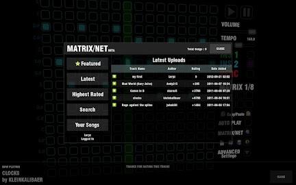 Music Matrix Screenshot 7
