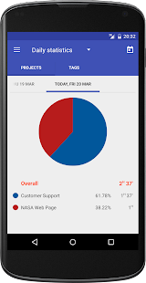 Swipetimes Time Tracker Pro- screenshot thumbnail