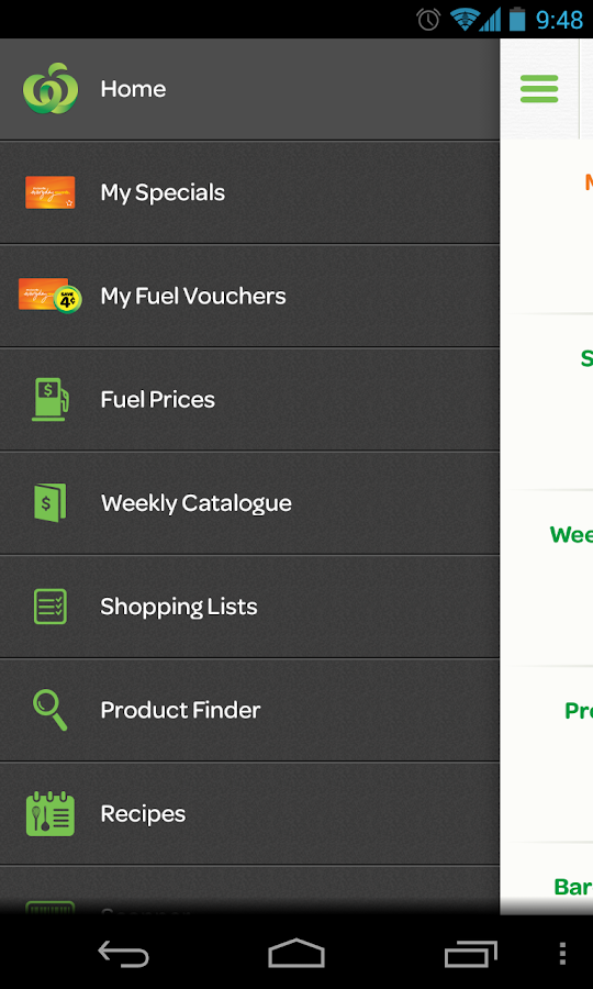 Woolworths - screenshot