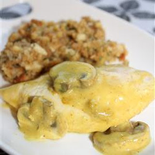 Sour Cream Chicken and Stuffing.