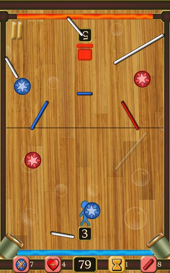Draw Hockey: Super Air Hockey- screenshot