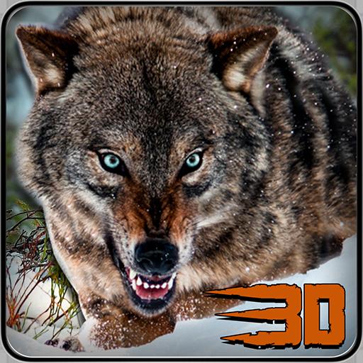 野狼攻击模拟器3D 模擬 LOGO-玩APPs