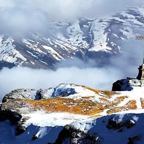 Heroes Cross, 2291 m, Romania by Sorin Lazar Photography - Uncategorized All Uncategorized ( monuments, mountains, altitude, romania, architecture, cross )