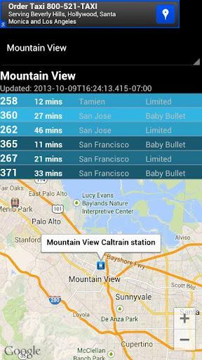 【免費交通運輸App】Caltrain Real-Time-APP點子