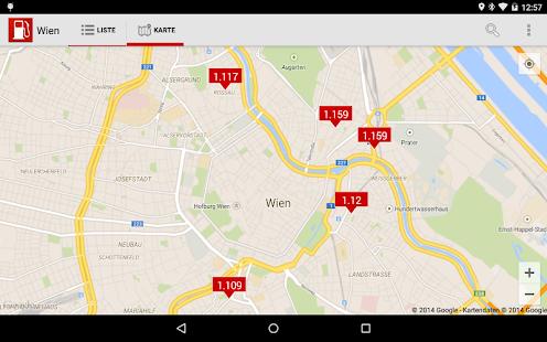 Spritpreis & Tanken Österreich - screenshot thumbnail