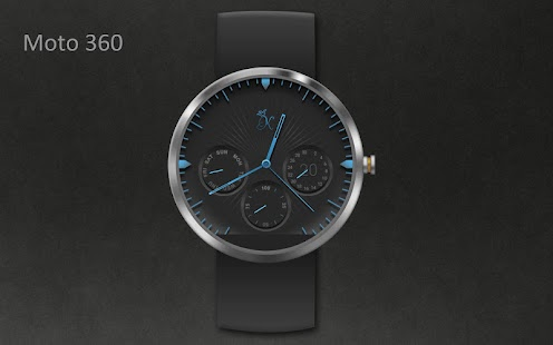 How to install KR alphablue watchface Moto360 lastet apk for android