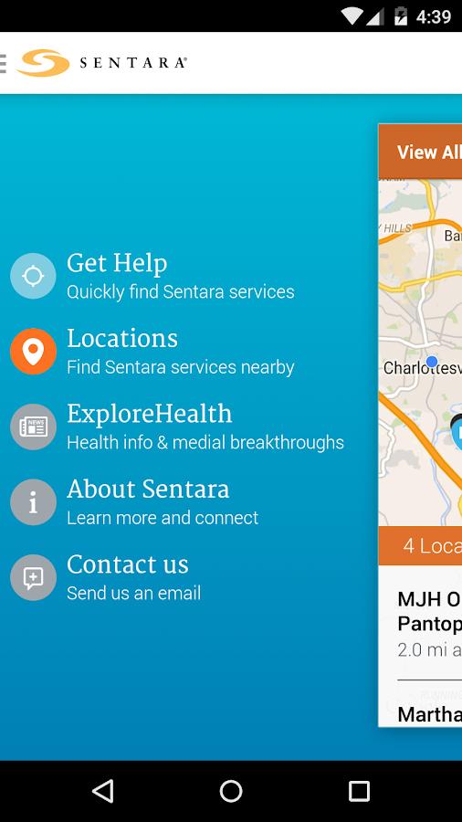 Sentara - screenshot