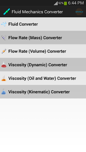 Fluid Mechanics Converter
