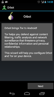 Orbot: Proxy with Tor - screenshot thumbnail