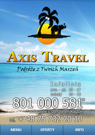 Axis Travel Mobile- screenshot