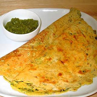 Besan Puda (Gram Flour Dosa).