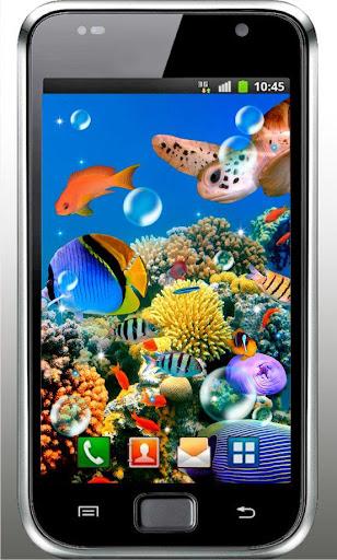 Aquarium Fishes live wallpaper