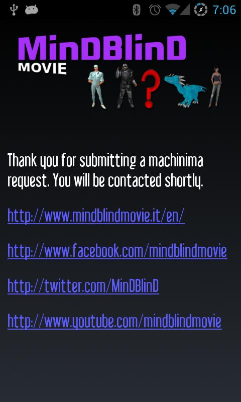 MinDBlinD machinima- screenshot