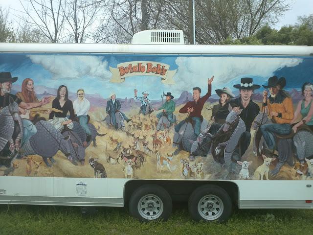 Photo from Bufalo Bob's Chalupa Wagon