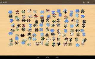 Screenshot of Monuments Jigsaw Puzzles