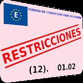 Restricciones permiso conducir