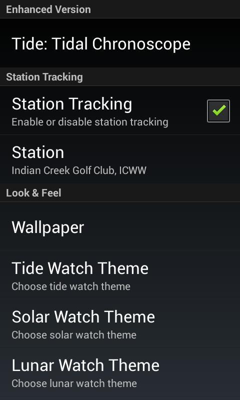 Tidal Chronoscope - screenshot