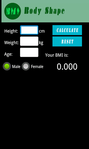 Body Shape 計算器 體重指數