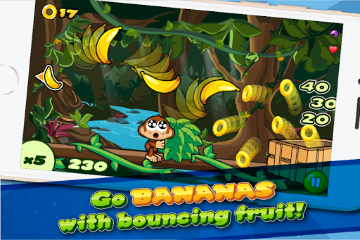 Baby Chimp Chomp: Fruit Bounce