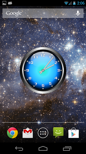 個人化必備APP下載|3D Glow 2 Analog Clock Widget 好玩app不花錢|綠色工廠好玩App