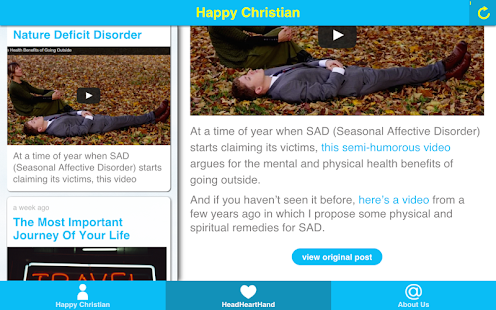 The Happy Christian- screenshot thumbnail